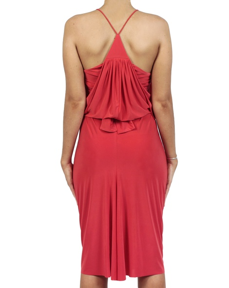 Hayden Dress red back