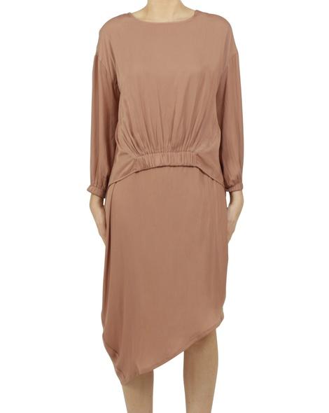 Allegra dress Vivienne top cinnamon A