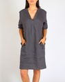 Brielle Dress charcoal A