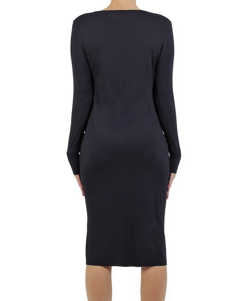 Lucille dress midnight back