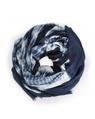 Tie Dye scarf indigo