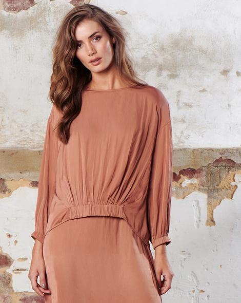 Vivienne Top _Allegra Dress CinnamonEDITED insta zoomed