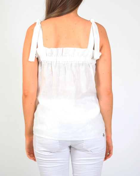 Jayde top white B