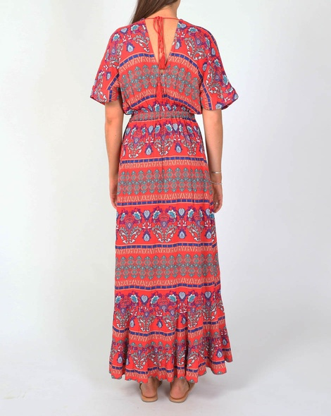 Hirani dress red B
