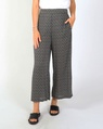 Jamy tie pant blk and white A