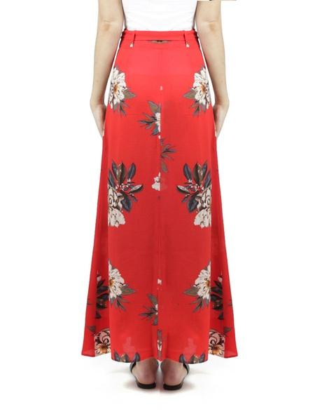Evangaline Skirt Red B