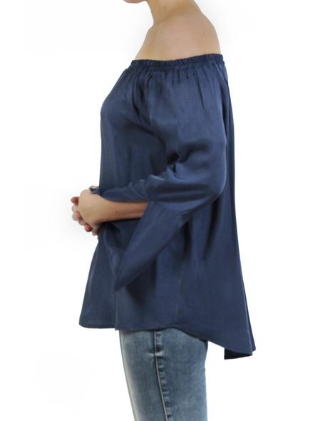 Enrica top blue side