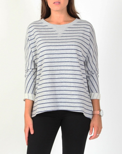 Dolman stripe jumper A new