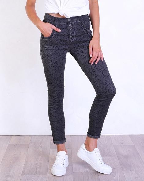 Leopard black jean charcoal (2)