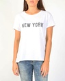 New york tee white A