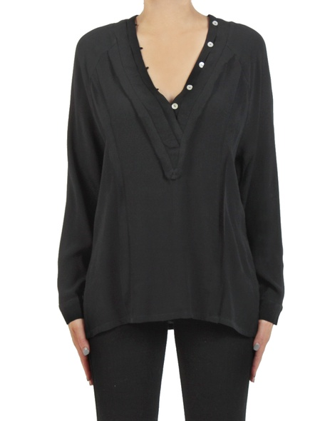 Gwyneth shirt black front