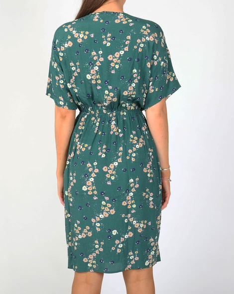 Aliyah dress green B