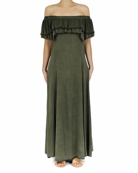 Allora dress khaki A copy