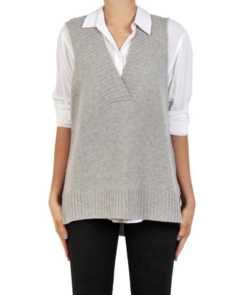 Leona Vest Grey front copy