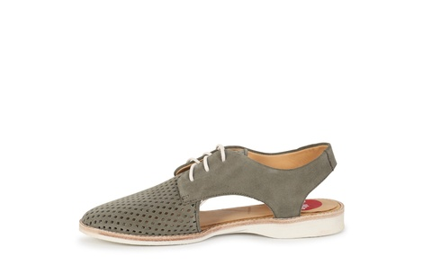 DERBY SLING BACK khaki (3)