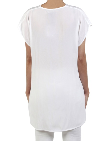 Cat top white back
