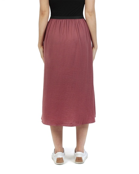 Miri midi skirt earth back copy