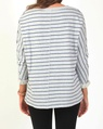 Dolman stripe jumper B new