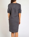 Brielle Dress charcoal B
