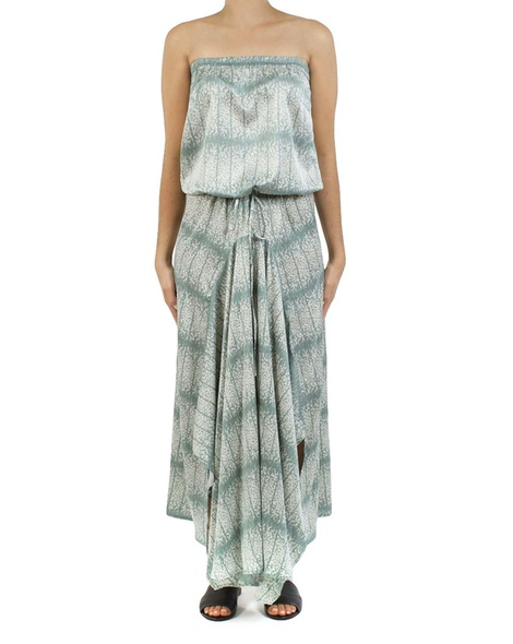 Floral loveland dress sage A