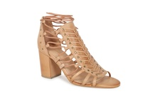 KAMARIN - lace up heel
