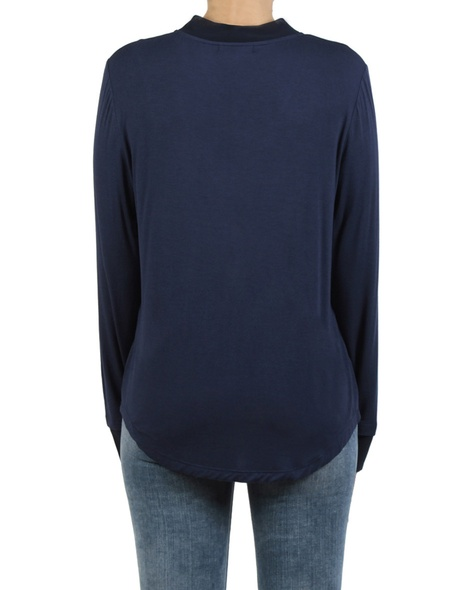Marie top Navy back