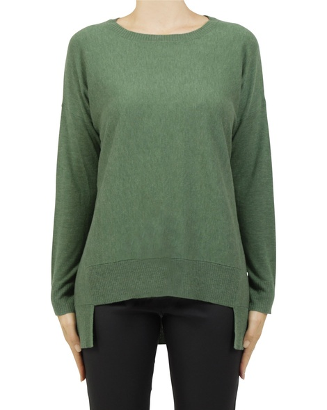 lucas merino knit green A