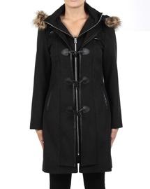 Fur Trim Duffle Coat