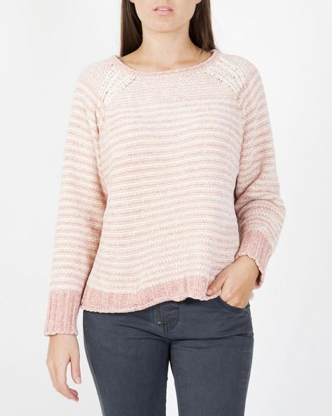 Lumi knit pink A