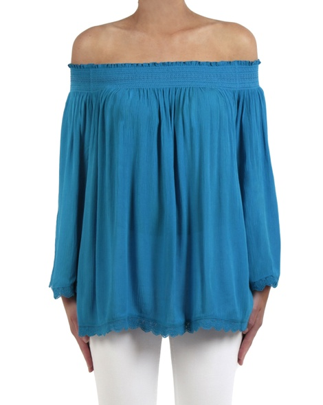 Marjorca top blue front copy