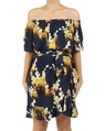 Floral anise dress A