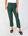 lottie linen pant green A