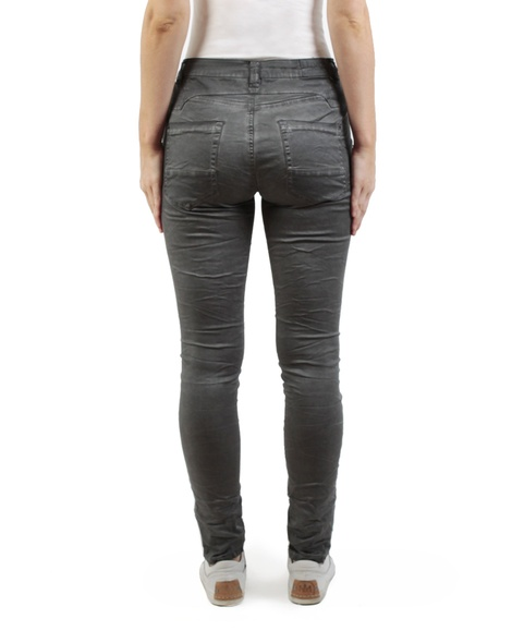 Button Hero jean charcoal back