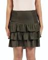 Posie skirt khaki front copy