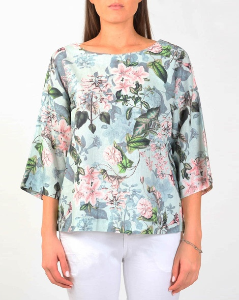 gatsby floral top A