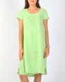 Toledo linen dress mint A