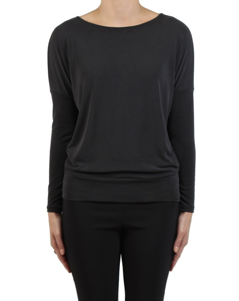 Stevie top black front