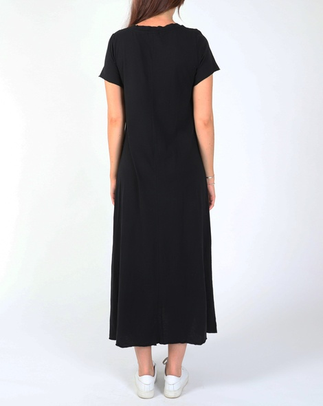 COTTON SHIRT DRESS blk C