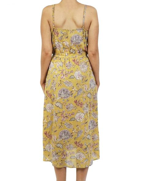 Miami dress mustard B copy