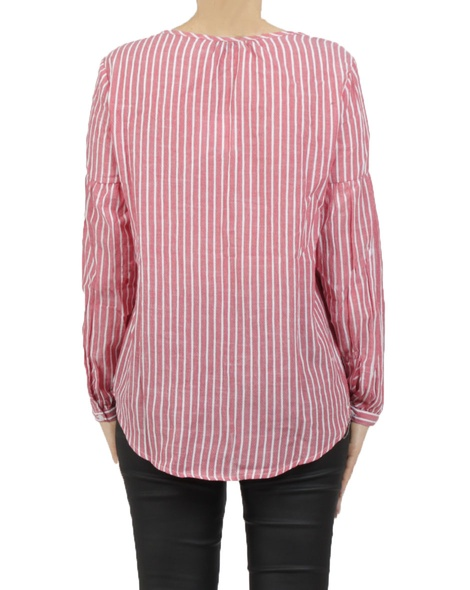 Pimms blouse red B