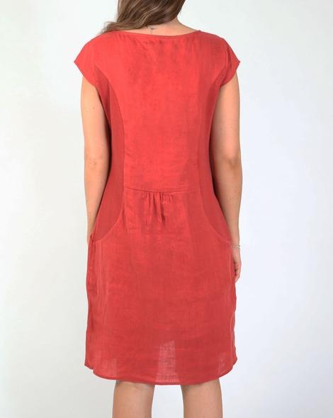 Bronte dress red B