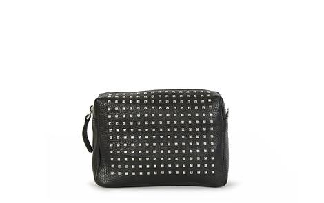 stud bag black front