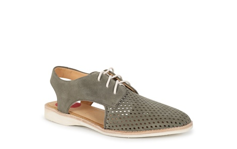 DERBY SLING BACK khaki (1)