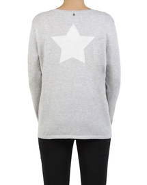 V Star Back Sweater