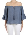 Fortuna top denim front