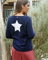 V Star back sweater + Miri midi skirt earth (9)