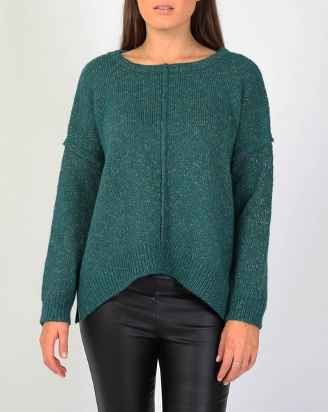 Dakota knit teal A