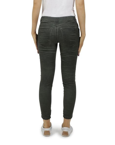 Ivy stripe jeans olive B