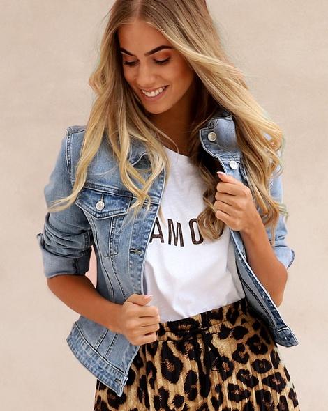 Wild one skirt denim jacket amour tee (165)zoomed