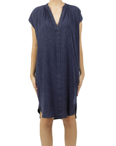 maggie dress navy A